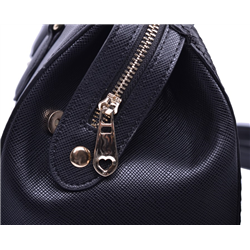 Elegancka torebka lakier mat czarna