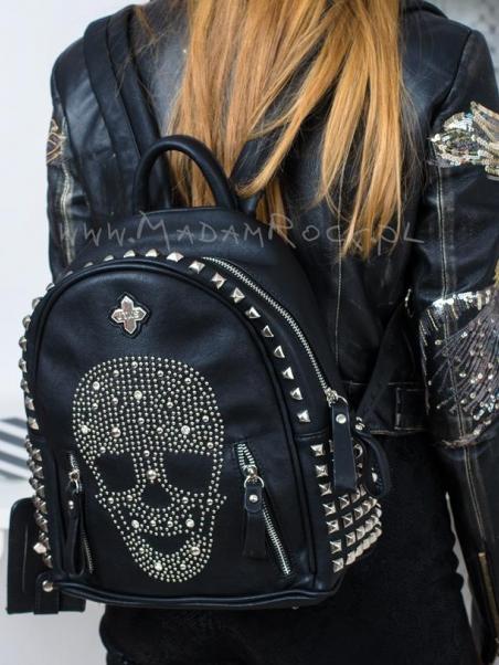 Plecak z czaszką Rock...