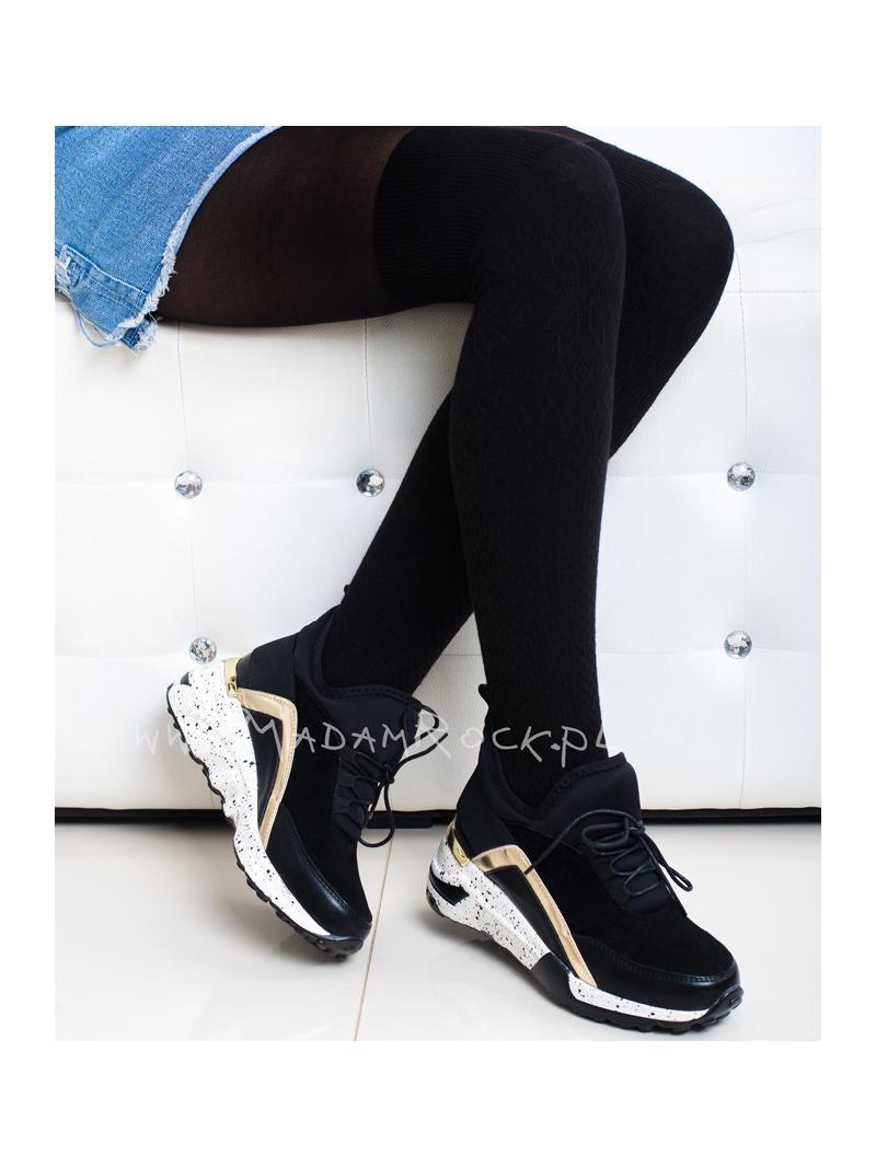 32198808379bb Buty sportowe sneakersy Madam Reo czarne
