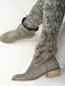 Botki Lazy Rock khaki
