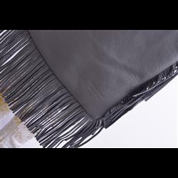 Czarne czółenka w szpic z blaszką