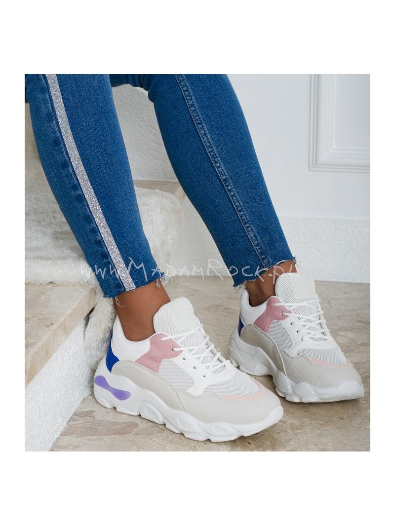 Buty sportowe Madam Smili białe