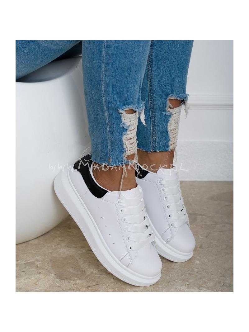 Buty sportowe Rock Upper białe czarne