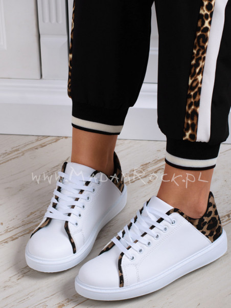 Buty sportowe Madam Leeo białe
