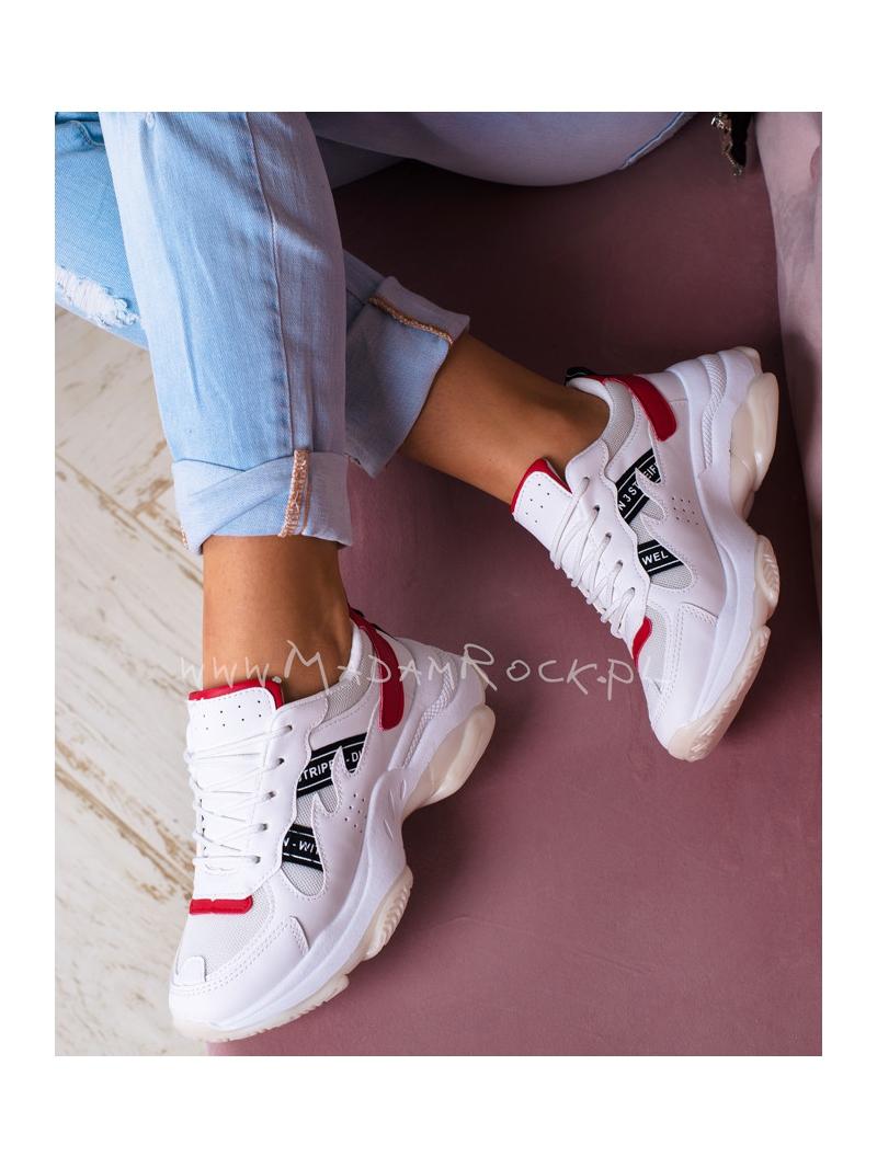 Buty sportowe Lady Ripsi białyczerwony
