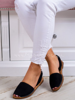 Sandały płaskie Madam Boso...