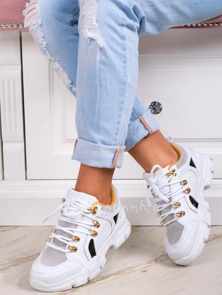 Buty sportowe Rullo Rock białe