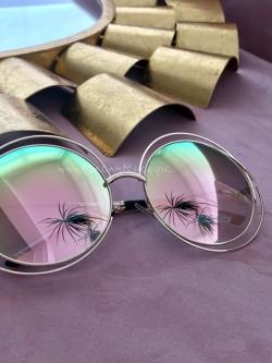 Duże okrągłe okulary Miu...