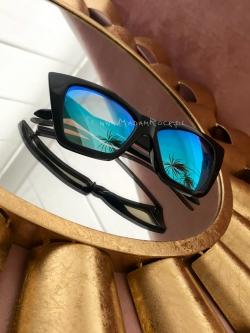 Kocie okulary czarne