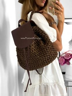 Plecak naturalny pleciony...