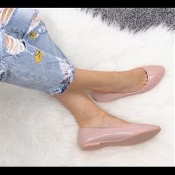 Czółenka sandały z paskami
