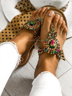 Sandały japonki z...