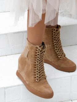 Sneakersy zamszowe Chic...