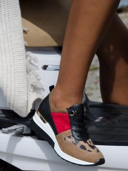 Buty sportowe skórzane Lady...