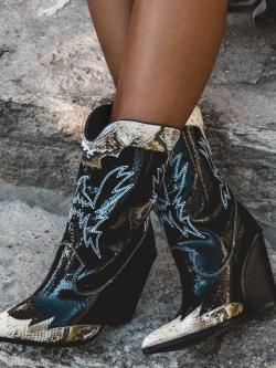 Kowbojki Inovo Rock czarne...