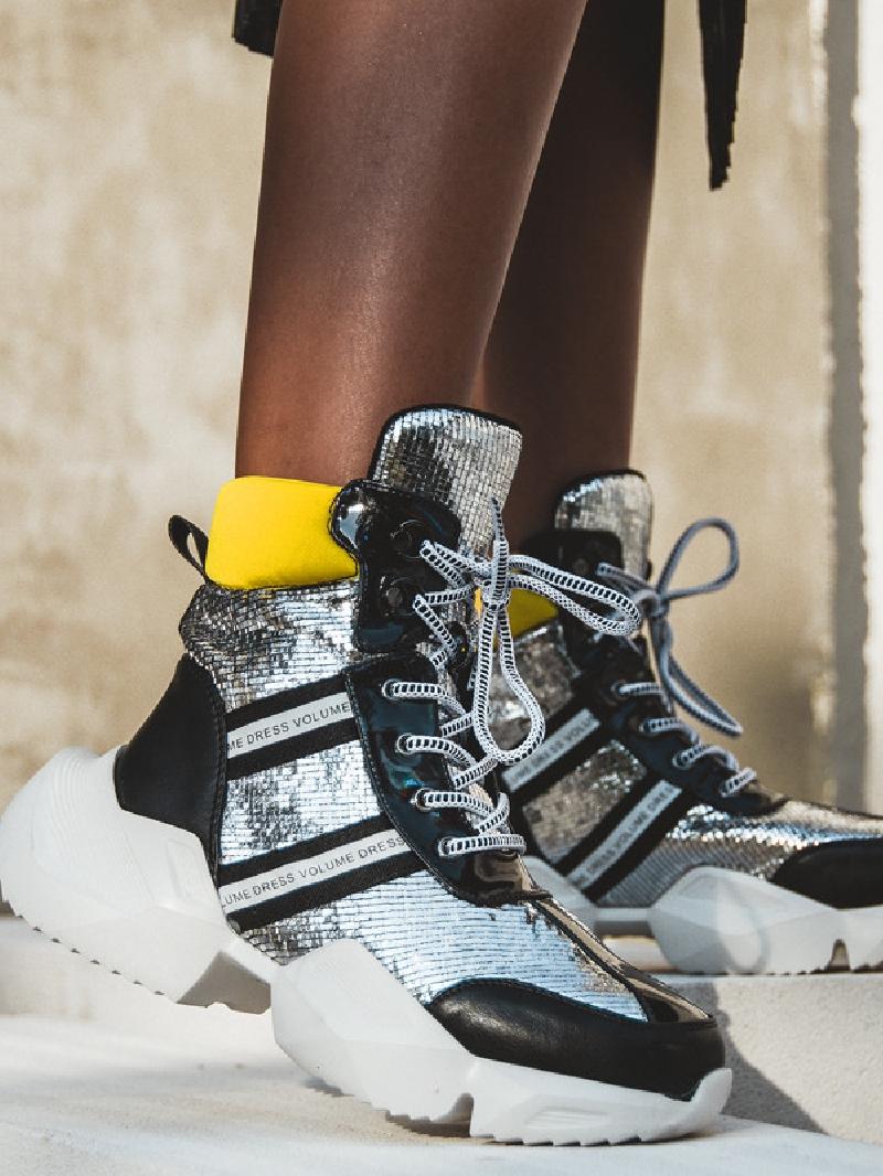Buty sportowe za kostkę Volume Rock czarne