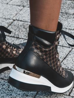 Sneakersy skórzane Madam...