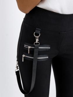 Spodnie elastyczne z...