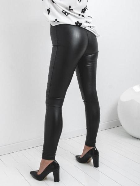 Spodnie legginsy woskowane...