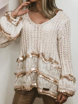 Ręcznie robiony sweter z...