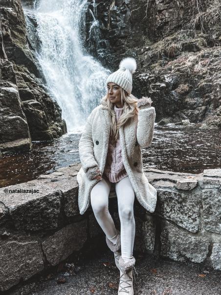 Śniegowce Lady Pell beżowe