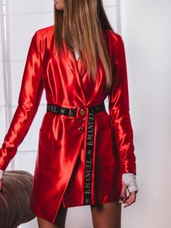 Sukienka o kroju marynarki...