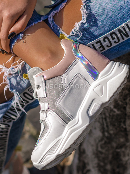 Sneakersy koturny Lady...
