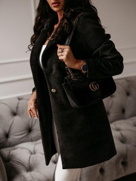 Płaszcz Delicate czarny