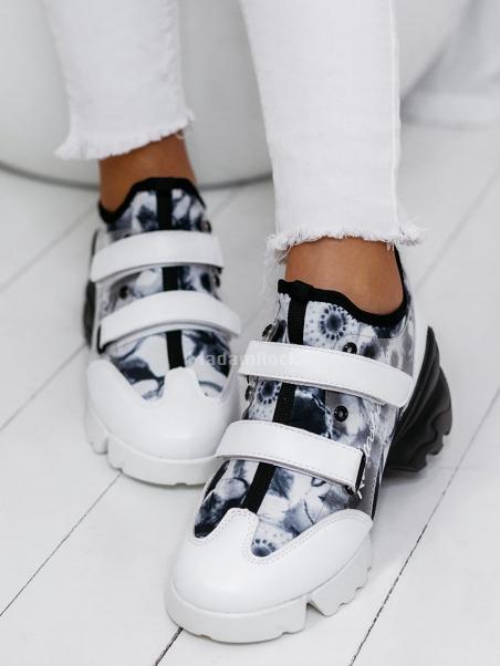 Buty sportowe na rzepy Lady...