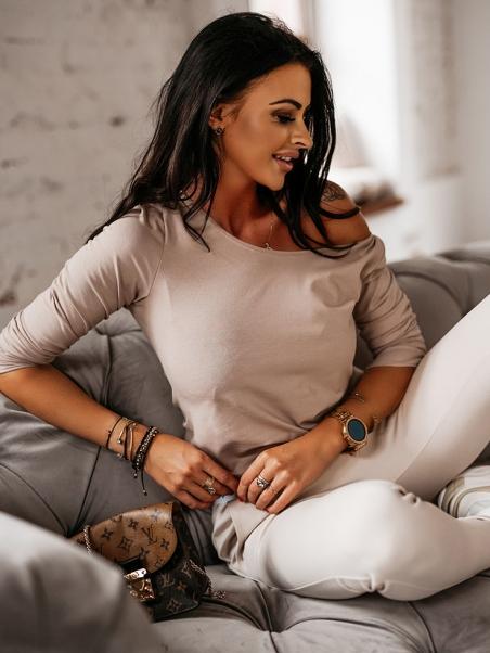 Elastyczna bluzka damska...