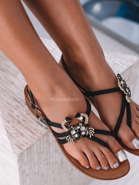 Sandały płaskie Karaiben...