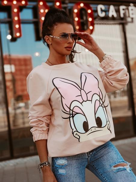 Bluza dresowa Daisy j.róż