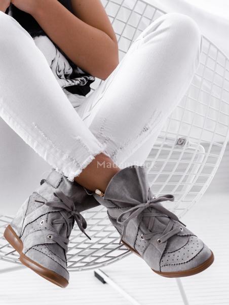 Sneakersy Madam Millor szare