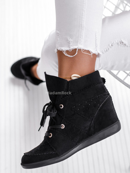 Sneakersy Madam Millor czarne
