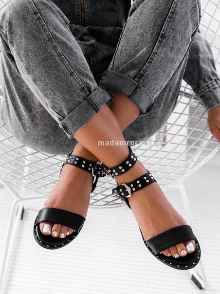Sandały z ćwiekami Rock...