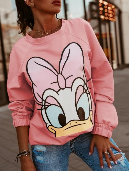 Bluza dresowa Daisy neonowy...