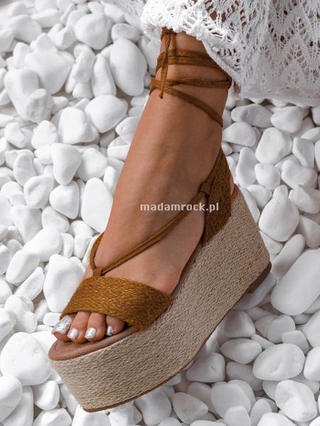Sandały espadryle Madam...