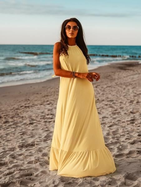 Zwiewna sukienka Maxi Beach...