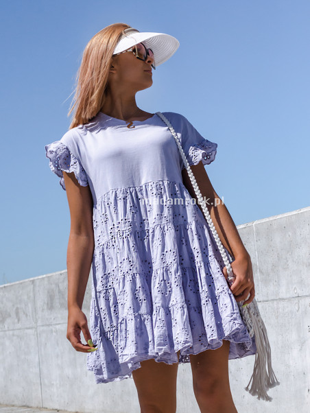 Letnia zwiewna sukienka...