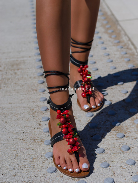Sandały japonki Madam...