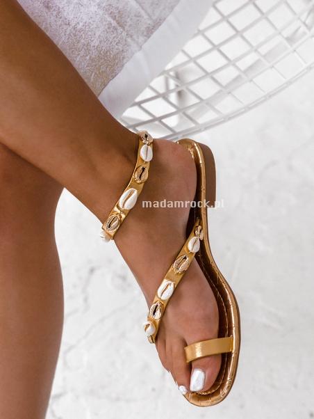 Sandałki płaskie Madam...