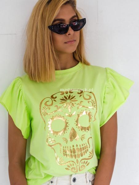 T-shirt bawełniany z...