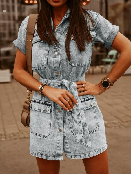 Sukienka jeansowa Denim...