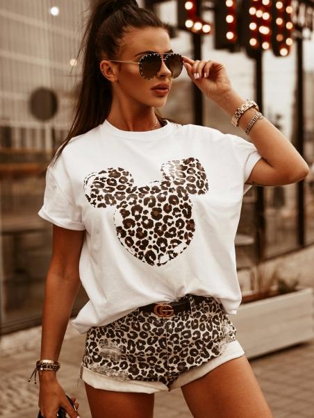 T-shirt bawełniany motyw...