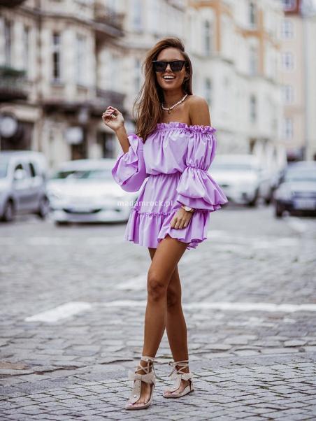 Sukienka marszczona NB...