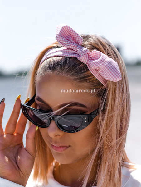 Okulary kocie oko czarne