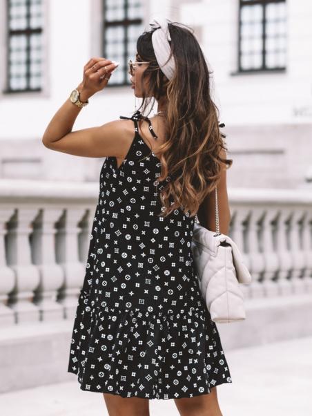 Sukienka mini na ramiączka...