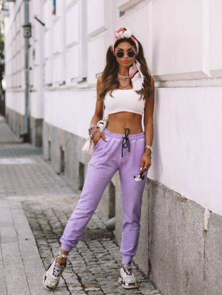 Spodnie Tie Dye Mousi...
