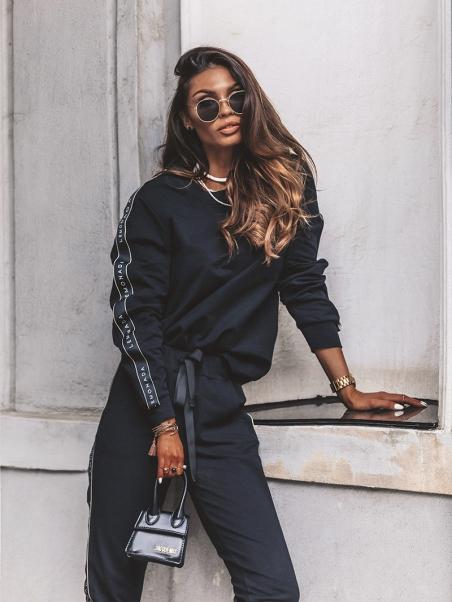 Bluza dresowa LA Lord czarna