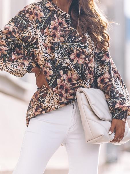 Bluza oversize MI OverPrint...